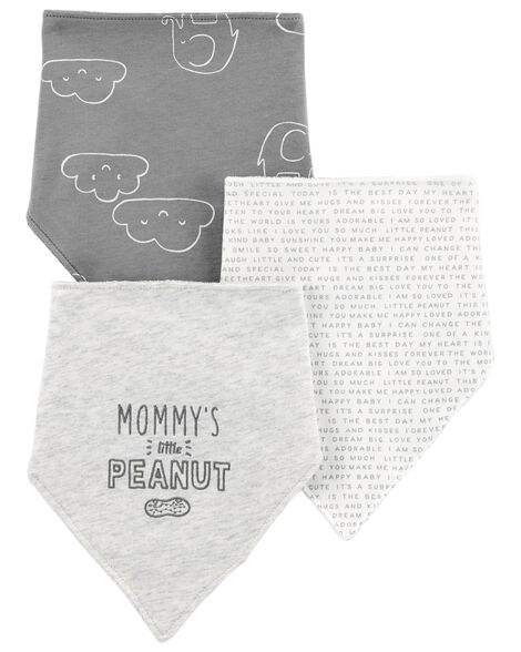 Display product reviews for 3-Pack Bandana Teething Bibs