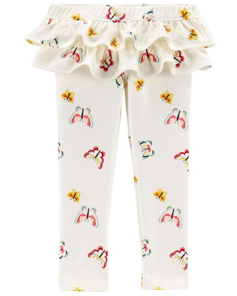 Display product reviews for Butterfly Ruffle French Terry Pants