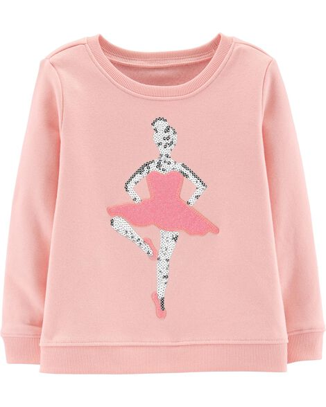 Display product reviews for Glitter Ballerina Pullover