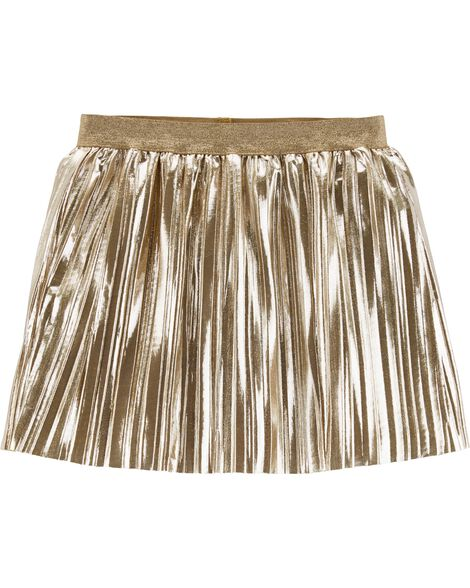 Display product reviews for Gold Metallic Skirt