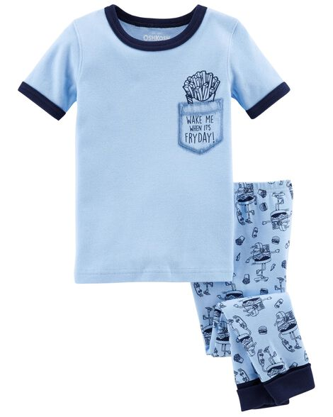 Display product reviews for 2-Piece Snug Fit Cotton PJs
