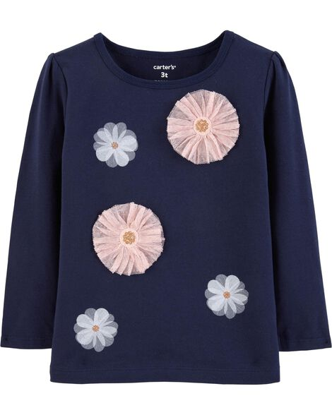 Display product reviews for Tulle Flower Tee