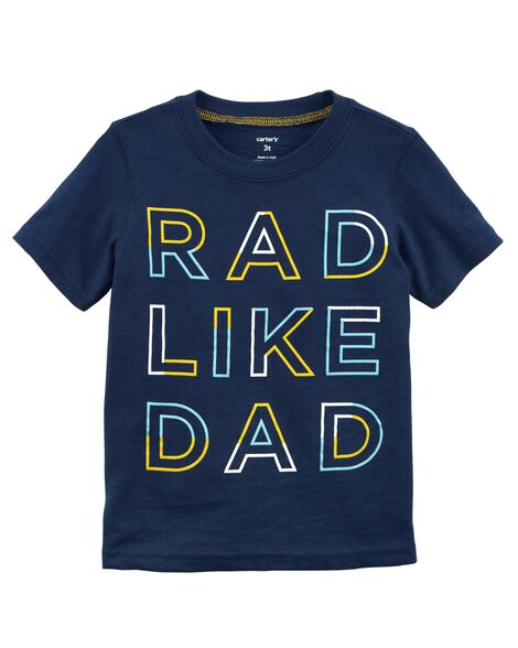 Display product reviews for Rad Like Dad Jersey Tee