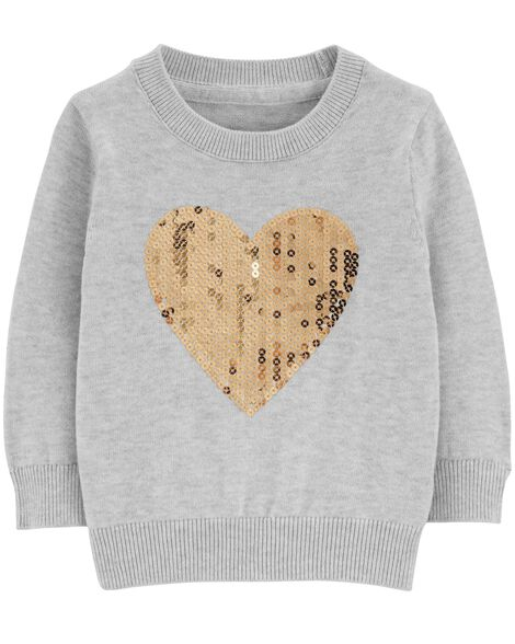Display product reviews for Sequin Heart Pullover