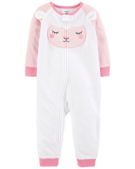 Display product reviews for 1-Piece Lamb Fleece Footless PJs