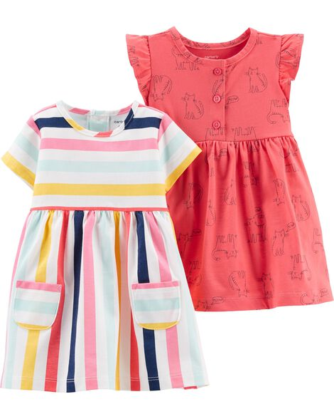 02d0f5bd3fef0 Display product reviews for 2-Pack Jersey Dress Set