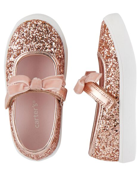 Display product reviews for Carter's Glitter Mary Jane Sneakers