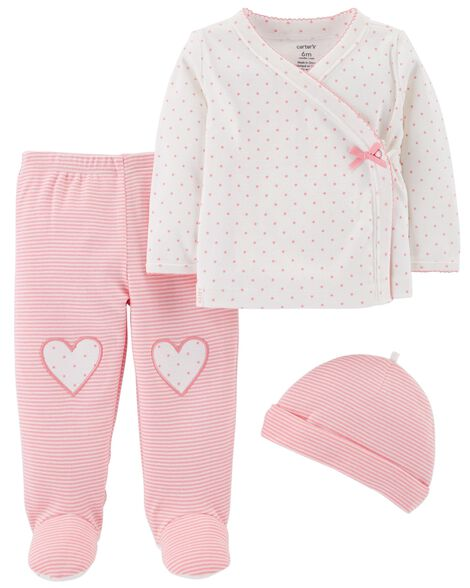 Display product reviews for 3-Piece Footed Pant Set