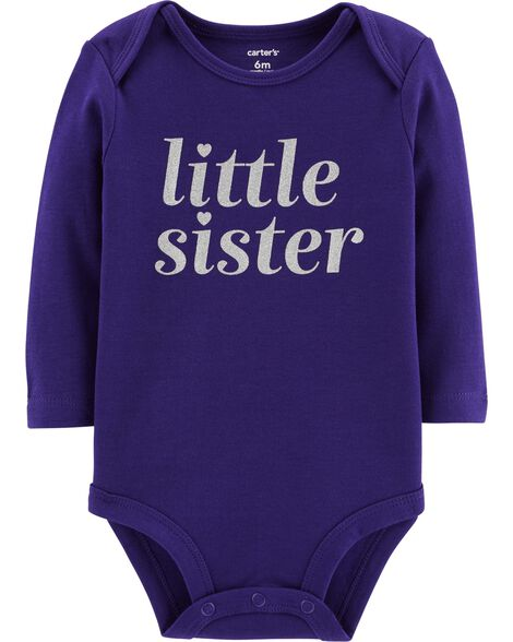 Display product reviews for Little Sister Collectible Bodysuit
