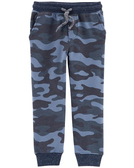 Display product reviews for Camo Pull-On French Terry Joggers