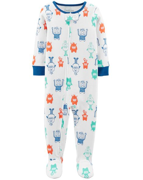 Display product reviews for 1-Piece Monster Cotton PJs
