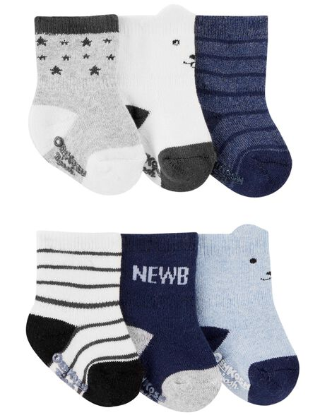 Display product reviews for 6-Pack Terry Ankle Socks