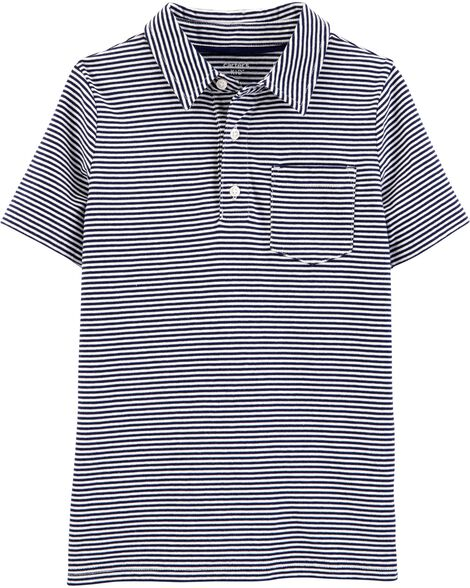 Display Product Reviews For Striped Jersey Polo