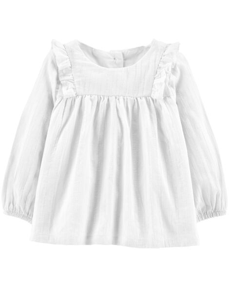 Display product reviews for Ruffle Shimmer Top