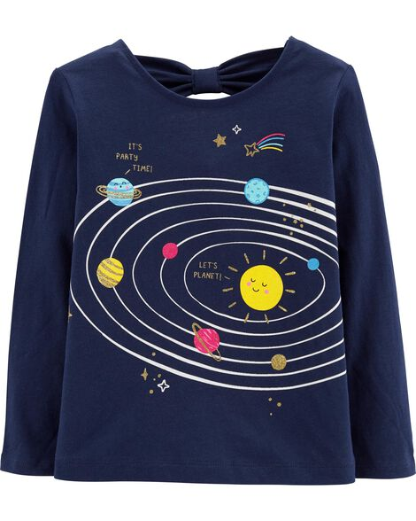 fda3859729c Display product reviews for Glitter Solar System Tee