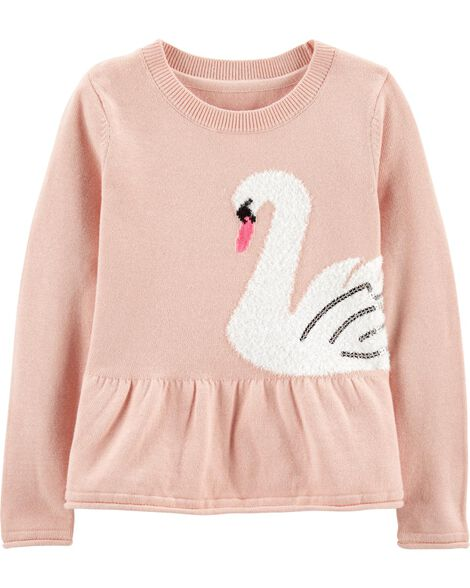 Display product reviews for Swan Peplum Sweater