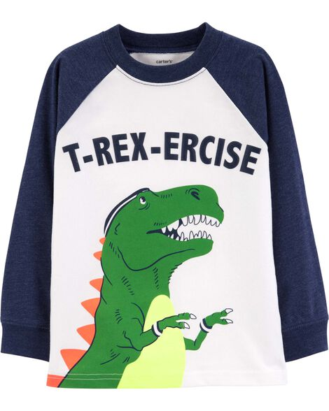 Display product reviews for T-Rex-Ercise Raglan Tee