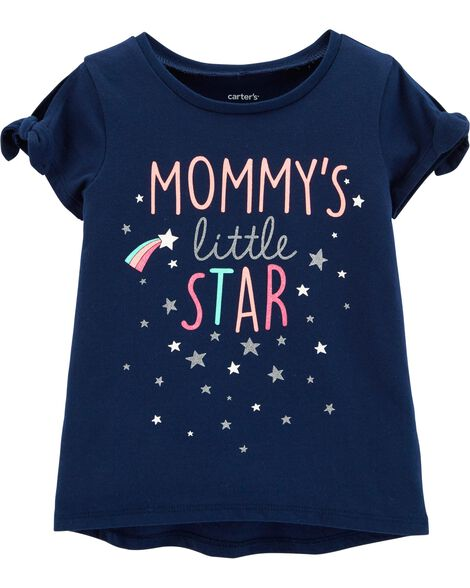 Display product reviews for Mommy's Little Star Hi-Lo Tee