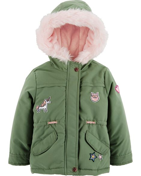 Display product reviews for Patch Parka Jacket