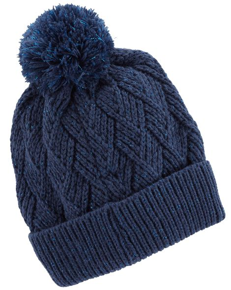Display product reviews for Pom Pom Sparkle Beanie