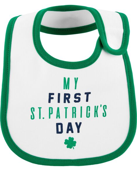 Display product reviews for St. Patrick's Day Teething Bib