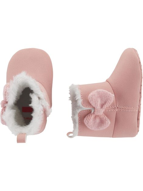 Display product reviews for Carter's Bow Boots Baby Shoes