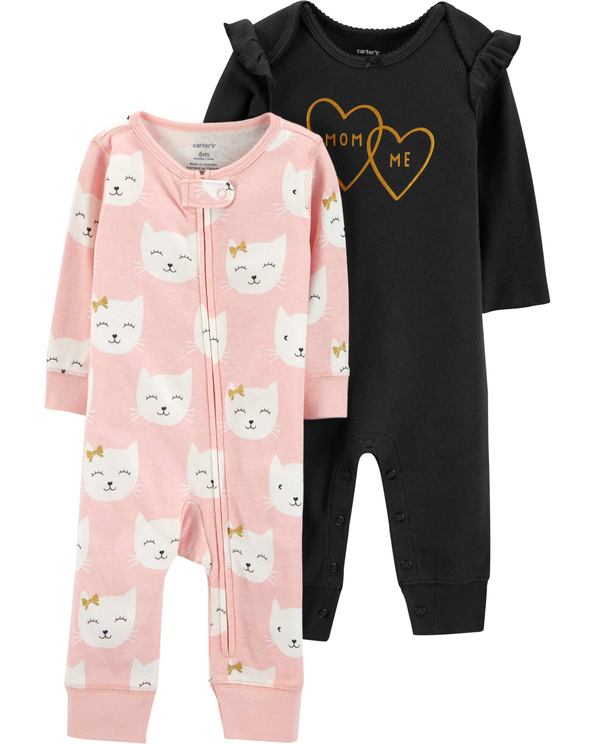 Clothing, Shoes & Accessories Practical Butterfly Sleep Sack Gown Newborn 0-3 Pajamas Girl Lot Clothing Baby Bird Pink