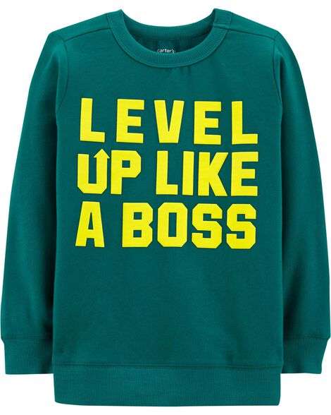 Display product reviews for Level Up Fleece Pullover