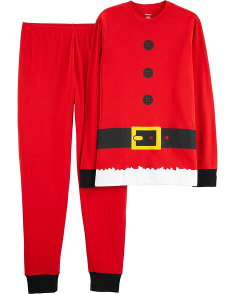 Display product reviews for 2-Piece Adult Santa Claus Cotton PJs