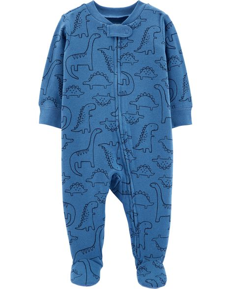Display product reviews for Dinosaur Zip-Up Cotton Sleep & Play