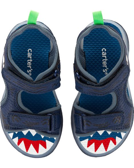 Display product reviews for Carter's Shark Light-Up Sandals