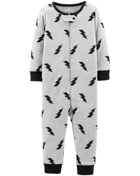 Display product reviews for 1-Piece Lightning Cotton PJs