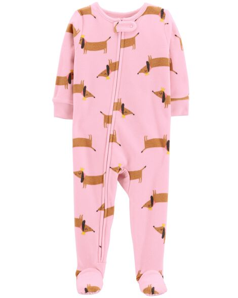 Display product reviews for 1-Piece Dog Fleece PJs