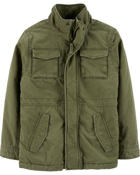 Display product reviews for Military Jacket