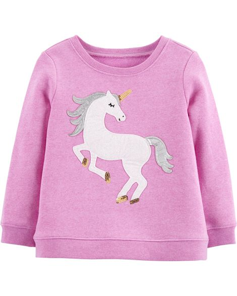 Display product reviews for Sequin Unicorn Pullover