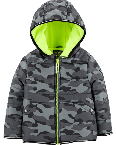 Display product reviews for Camo Puffer Jacket