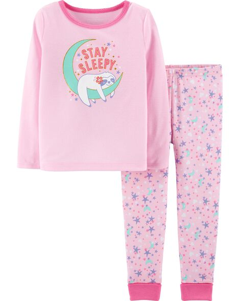 Display product reviews for 2-Piece Sleepy Sloth PJs