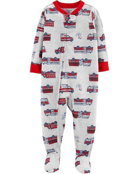 3f39455ef Display product reviews for 1-Piece Firetruck Footed Poly PJs