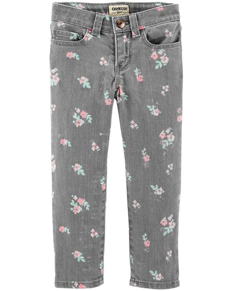 Display product reviews for Floral Jeans