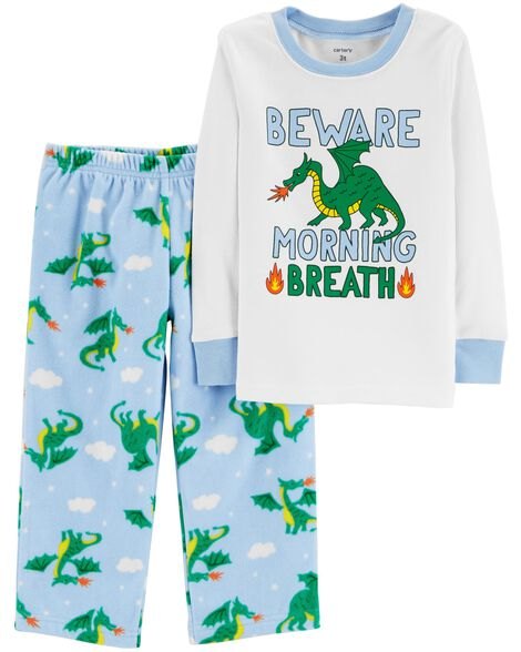 Display product reviews for 2-Piece Dragon Snug Fit Cotton & Fleece PJs