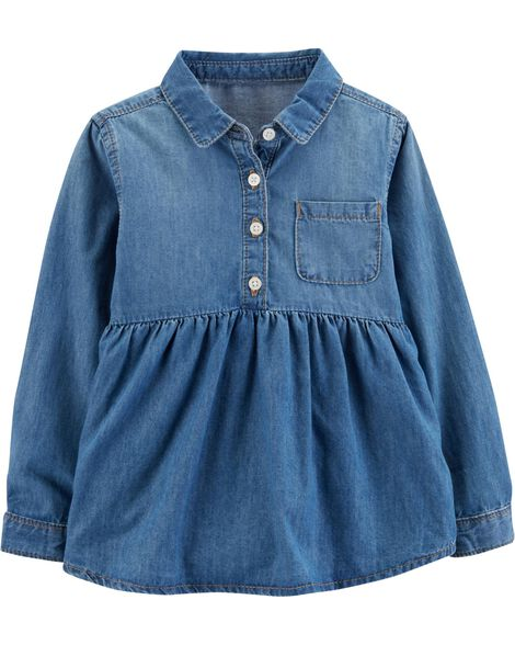 Display product reviews for Chambray Tunic