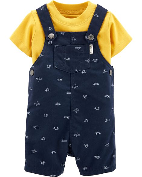 d069de5ed Display product reviews for 2-Piece Tee   Airplane Shortalls Set