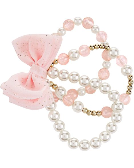 Display product reviews for Pearl Bow Bracelet