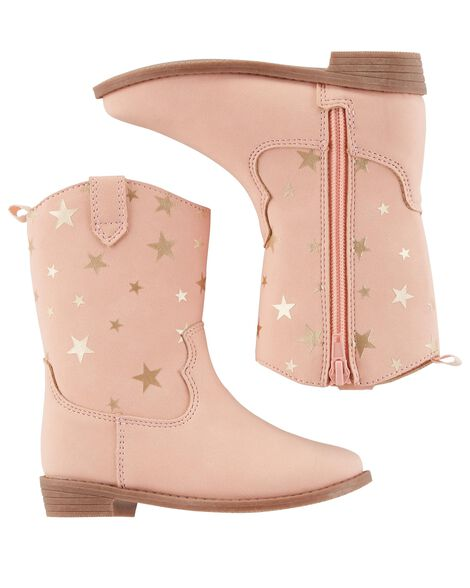 Display product reviews for Carter's Star Cowgirl Boots