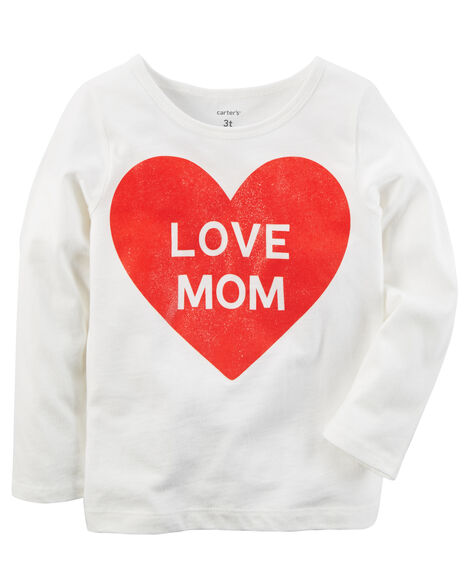 Display product reviews for Everyday Essentials Love Mom Tee