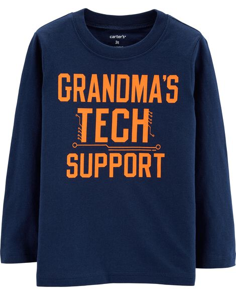 d4453d4826f9a Display product reviews for Grandma s Tech Support Jersey Tee