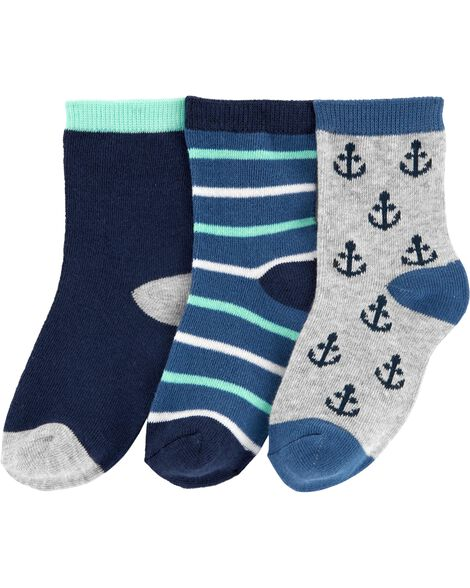 Display product reviews for 3-Pack Anchor Socks