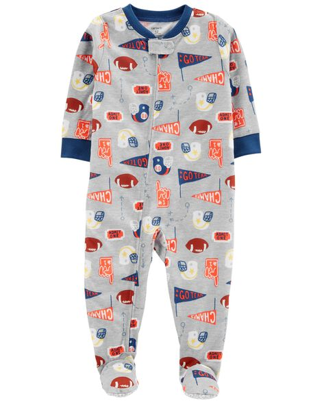 Display product reviews for 1-Piece Football Poly PJs