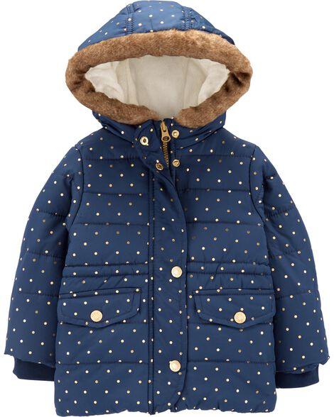 Display product reviews for Foil Polka Dot Parka