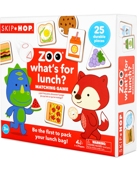 Zoo What's for Lunch Game